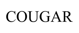 mark for COUGAR, trademark #78800337