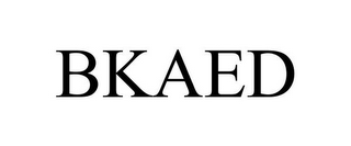 mark for BKAED, trademark #78800349