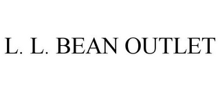 mark for L. L. BEAN OUTLET, trademark #78800756