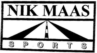 mark for NIK MAAS SPORTS, trademark #78800796