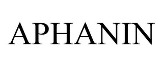 mark for APHANIN, trademark #78801678