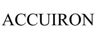 mark for ACCUIRON, trademark #78802846