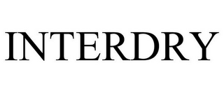 mark for INTERDRY, trademark #78803366