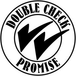 mark for DOUBLE CHECK PROMISE, trademark #78803537