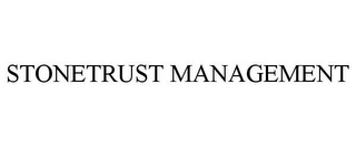 mark for STONETRUST MANAGEMENT, trademark #78804498