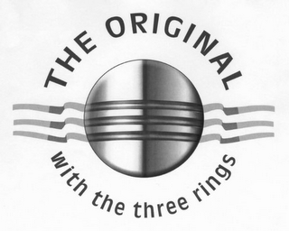 mark for THE ORIGINAL WITH THE THREE RINGS, trademark #78804537