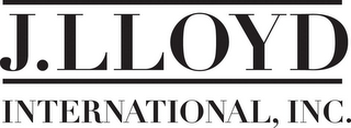mark for J. LLOYD INTERNATIONAL, INC., trademark #78805670