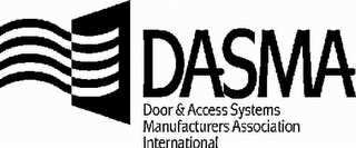 mark for DASMA DOOR & ACCESS SYSTEMS MANUFACTURERS ASSOCIATION INTERNATIONAL, trademark #78807023