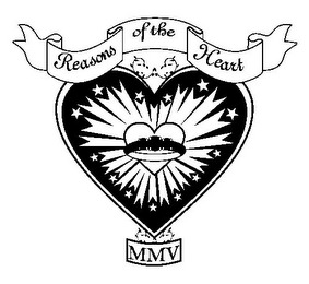 mark for REASONS OF THE HEART MMV, trademark #78809471
