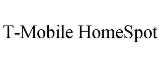 mark for T-MOBILE HOMESPOT, trademark #78811188