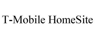 mark for T-MOBILE HOMESITE, trademark #78811320