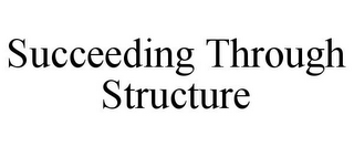 mark for SUCCEEDING THROUGH STRUCTURE, trademark #78811550