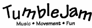 mark for TUMBLEJAM MUSIC · MOVEMENT · FUN, trademark #78812217