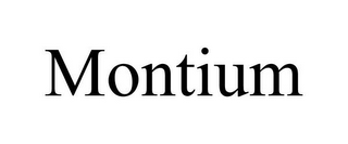 mark for MONTIUM, trademark #78813583