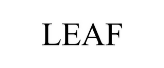 mark for LEAF, trademark #78814269