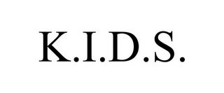 mark for K.I.D.S., trademark #78814777