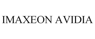 mark for IMAXEON AVIDIA, trademark #78815012