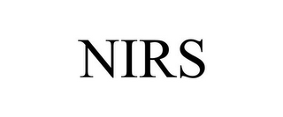 mark for NIRS, trademark #78816663
