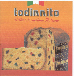 mark for TODINNITO IL VERO PANETTONE ITALIANO TODINNO, trademark #78816701