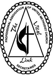 mark for PROFESSIONAL ASSOCIATION OF UNITED METHODIST CHURCH SECRETARIES THE VITAL LINK, trademark #78816735