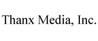 mark for THANX MEDIA, INC., trademark #78817375