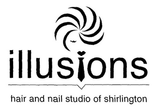 mark for ILLUSIONS HAIR AND NAIL STUDIO OF SHIRLINGTON, trademark #78818667