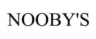 mark for NOOBY'S, trademark #78823512