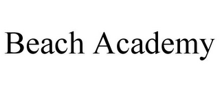 mark for BEACH ACADEMY, trademark #78823520