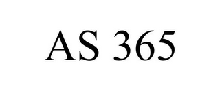 mark for AS 365, trademark #78824090