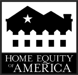 mark for HOME EQUITY OF AMERICA, trademark #78824237