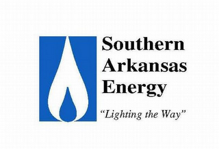 "mark for SOUTHERN ARKANSAS ENERGY ""LIGHTING THE WAY"", trademark #78825496"