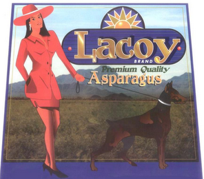 mark for LACOY BRAND PREMIUM QUALITY ASPARAGUS, trademark #78826972