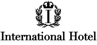 mark for I INTERNATIONAL HOTEL, trademark #78827260