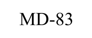 mark for MD-83, trademark #78829112