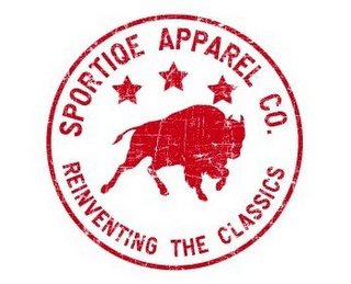 mark for SPORTIQE APPAREL CO. REINVENTING THE CLASSICS, trademark #78832087