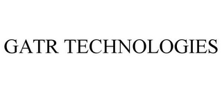mark for GATR TECHNOLOGIES, trademark #78832598