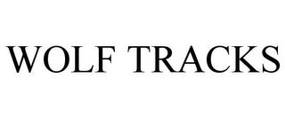 mark for WOLF TRACKS, trademark #78832713