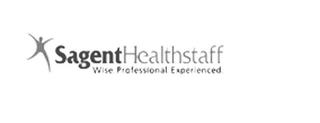 mark for SAGENTHEALTHSTAFF WISE. PROFESSIONAL. EXPERIENCED., trademark #78833087