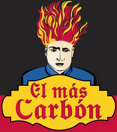 mark for EL MÁS CARBÓN, trademark #78833142