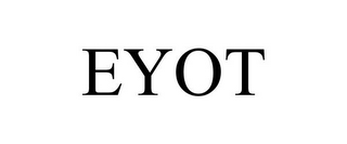 mark for EYOT, trademark #78833202