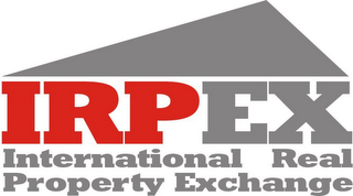 mark for IRPEX INTERNATIONAL REAL PROPERTY EXCHANGE, trademark #78833725