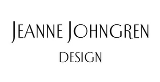 mark for JEANNE JOHNGREN DESIGN, trademark #78834290