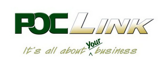 mark for POC LINK IT'S ALL ABOUT ^ YOUR BUSINESS, trademark #78834335