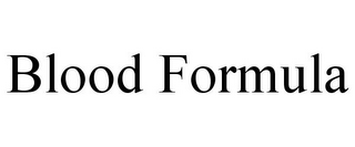mark for BLOOD FORMULA, trademark #78835349