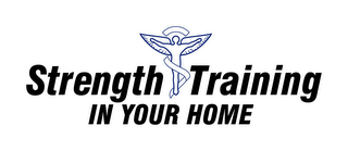 mark for STRENGTH TRAINING IN YOUR HOME, trademark #78837878
