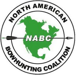 mark for NORTH AMERICAN BOWHUNTING COALITION NABC, trademark #78838757