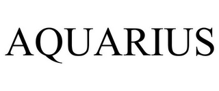 mark for AQUARIUS, trademark #78840487