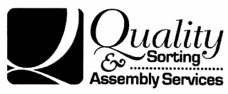 mark for Q QUALITY SORTING & ASSEMBLY SERVICES, trademark #78840664