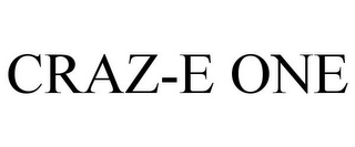 mark for CRAZ-E ONE, trademark #78841065