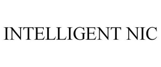 mark for INTELLIGENT NIC, trademark #78841834